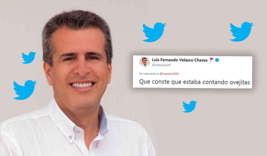 Luis Fernando Velasco responde a 'me gusta' que dio a modelo