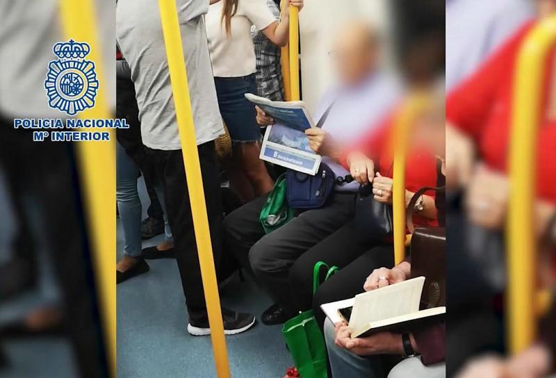 Depredador sexual del Metro de Madrid es colombiano