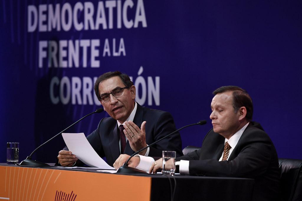 Es complicado suceder a Vizcarra: vicepresidenta de Perú