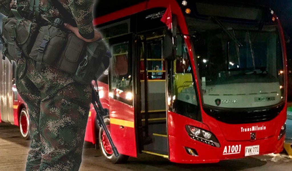 ¿Tendrán acceso gratuito al TransMilenio los militares?