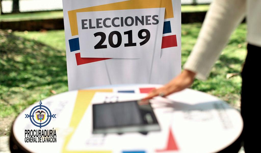Más de 600 candidatos están inhabilitados: Procuraduría