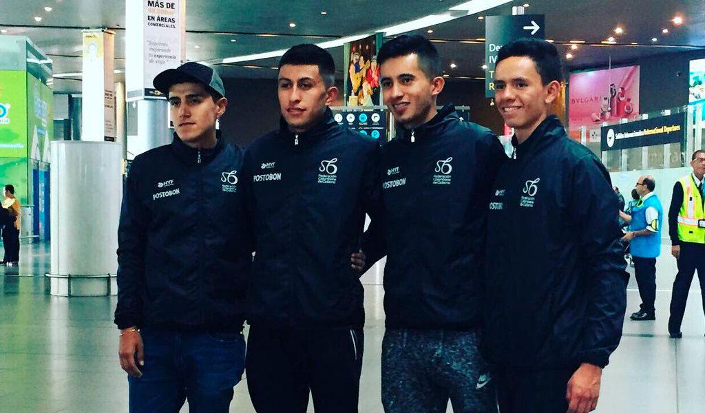 Colombianos en el Tour de l'Avenir
