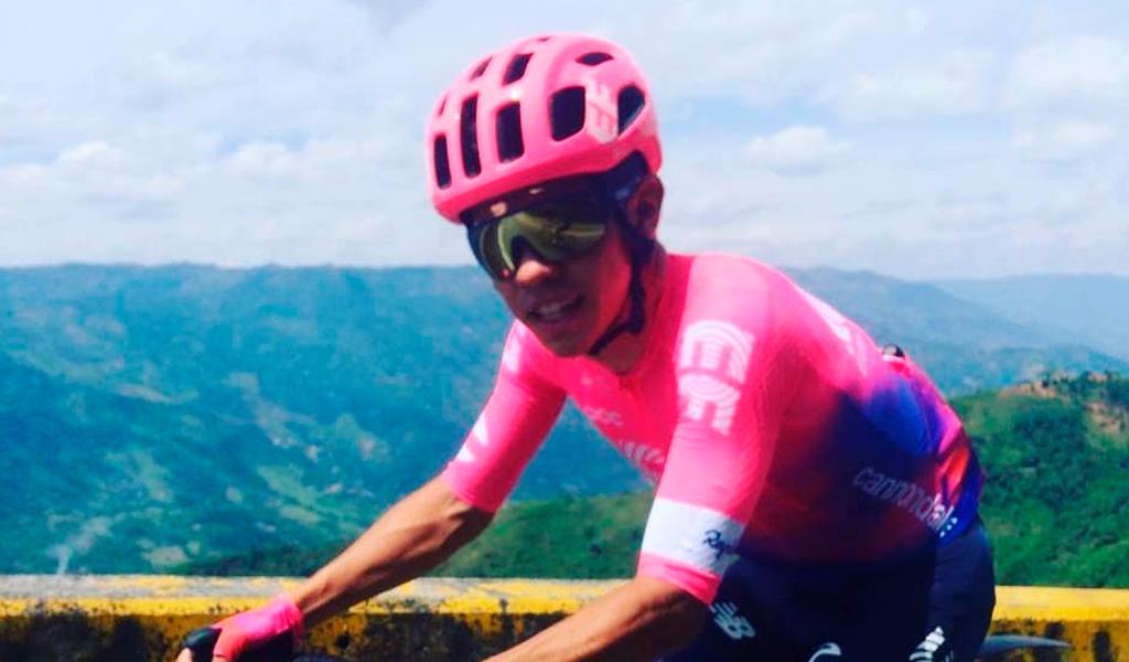 Sergio Higuita en la general del Tour de Polonia
