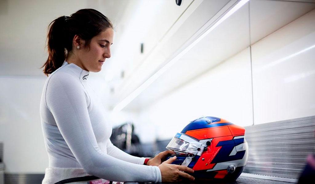 Tatiana Calderón vuelve a la Fórmula 1 en Francia