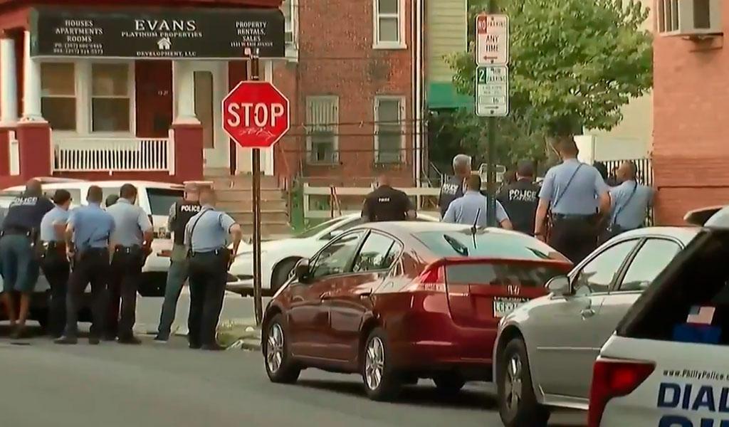 Al menos 6 policías heridos por tiroteo en Filadelfia