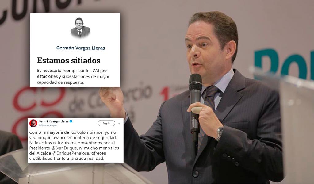 Vargas Lleras reprueba administración Duque y Peñalosa