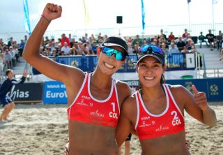 Colombia campeona del mundo en voley playa