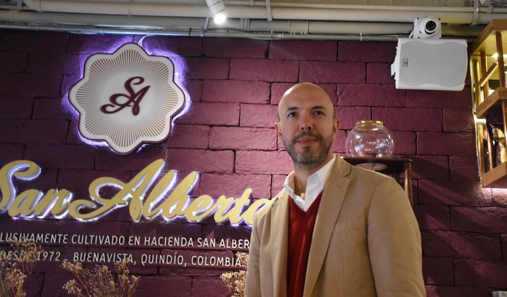 Café San Alberto, Gustavo Villota, café más premiado, Colombia, Quindío
