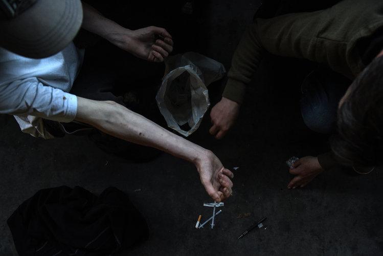 La muerte de drogadictos aumenta en Escocia