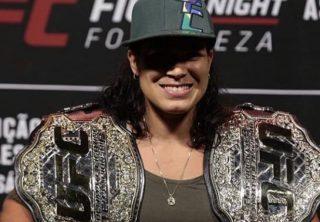Amanda Nunes en el UFC 245