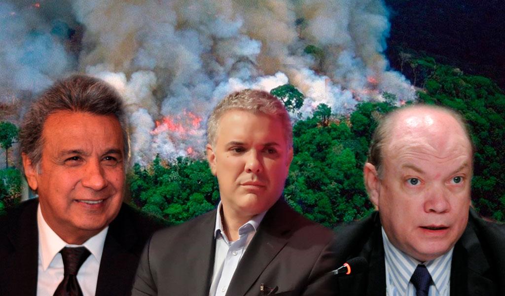 Gobernantes se manifiestan para pedir por la Amazonía
