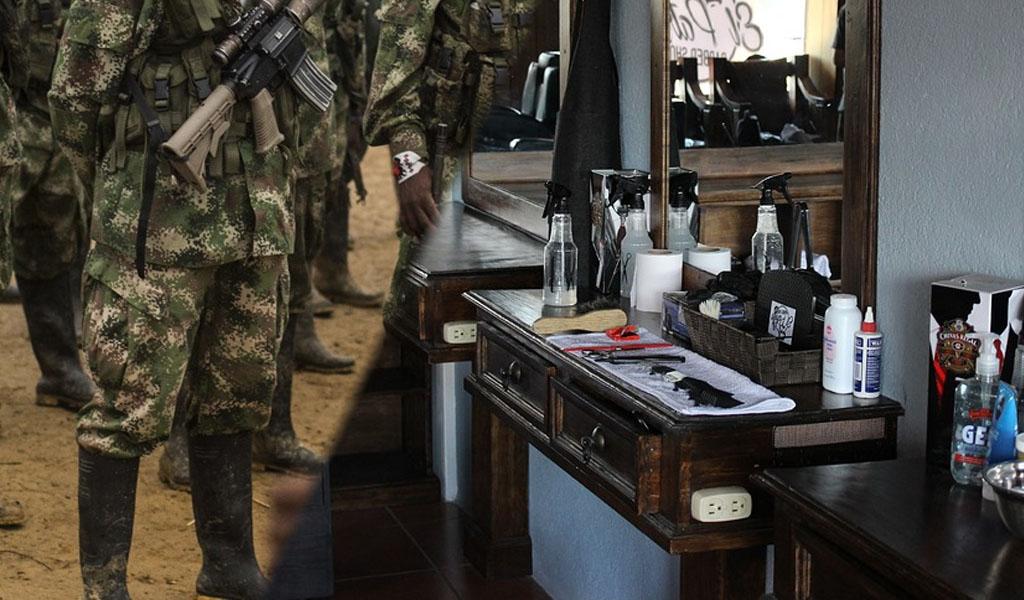 De soldado de guerra a barbero emprendedor