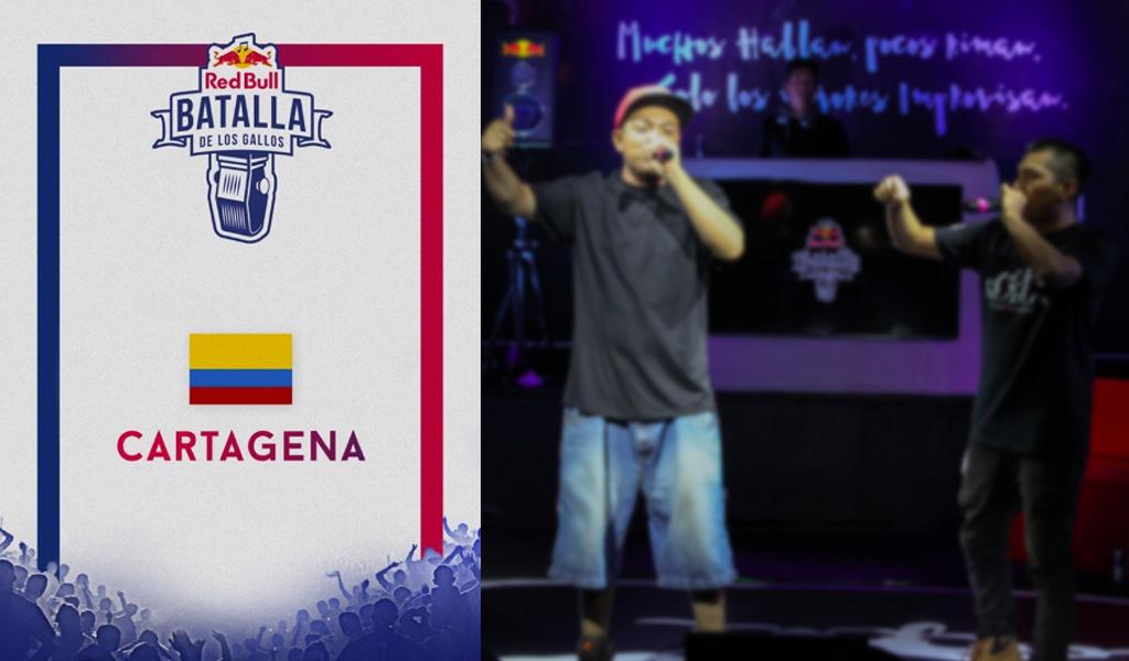 Semifinales de la Red Bull Batalla de Gallos en Cartagena