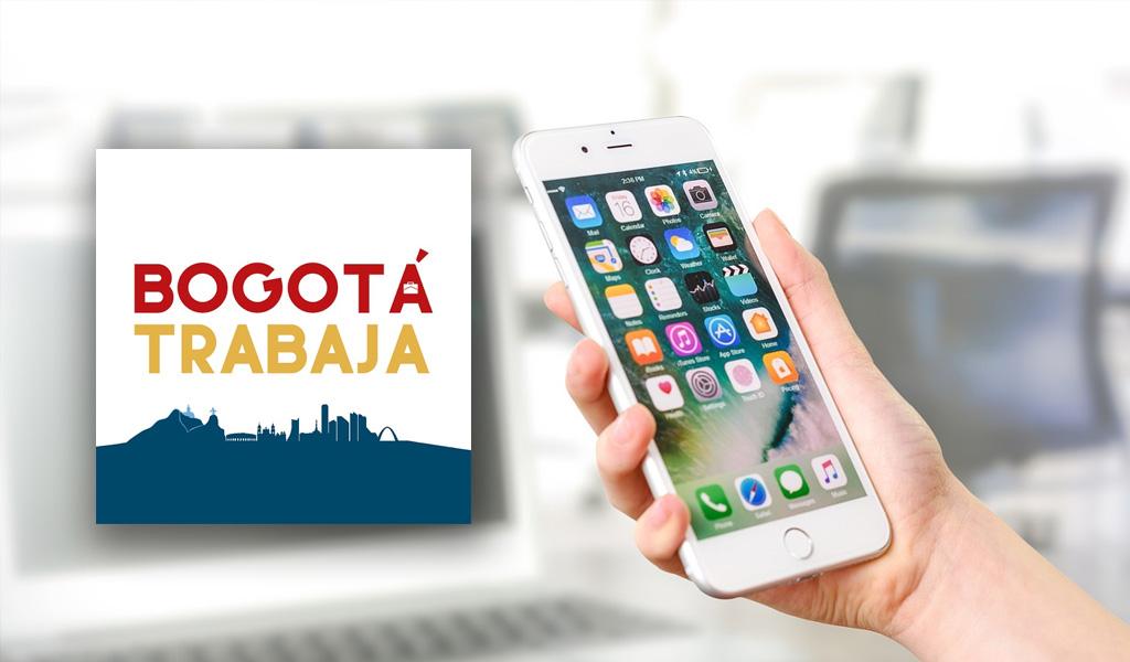 'Bogotá Trabaja', aplicación que le ayuda a buscar empleo