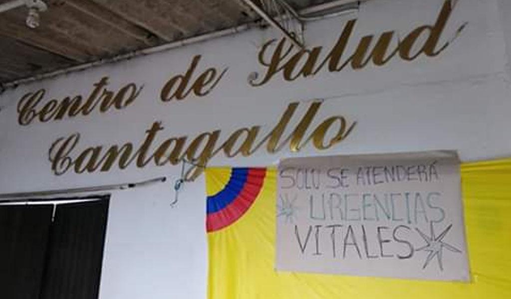 La salud de Cantagallo, Bolívar, está en crisis