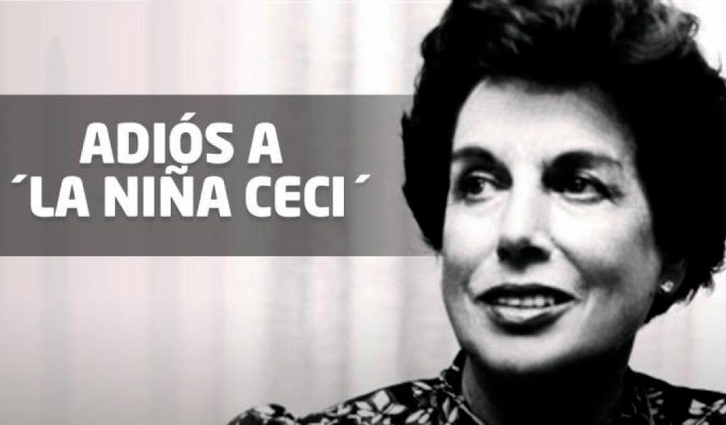 La 'Niña Ceci', una primera dama única e inolvidable