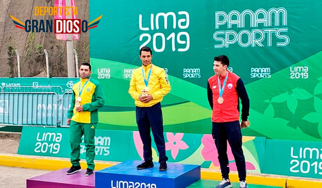 Daniel Martínez se vistió de oro en Panamericanos