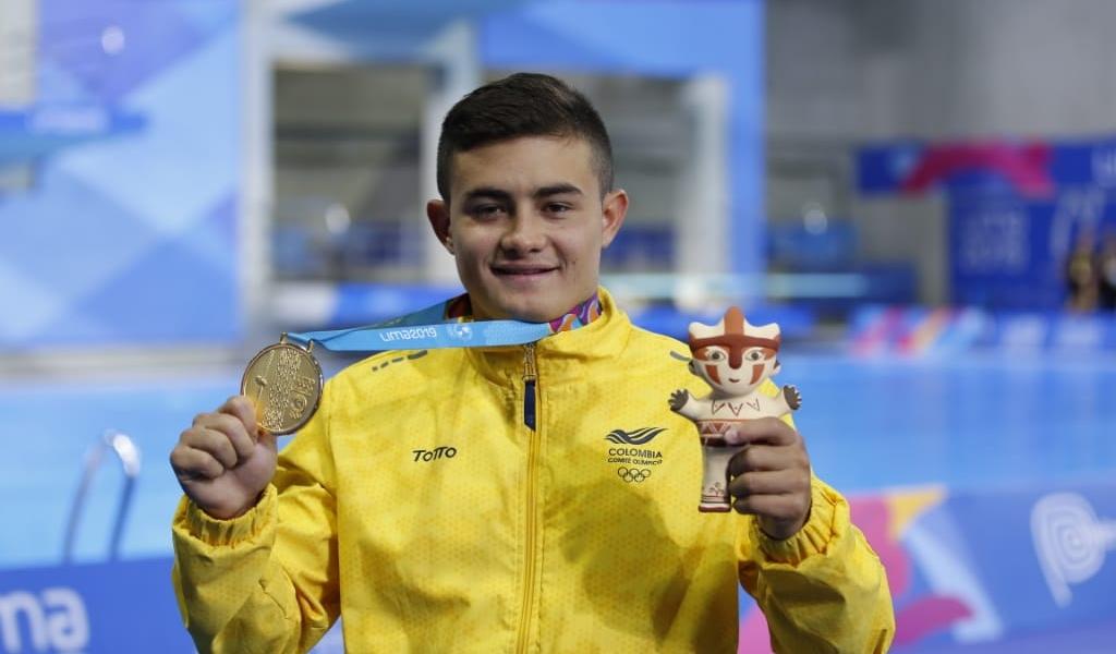 Oro y Olímpicos para Daniel Restrepo en Panamericanos