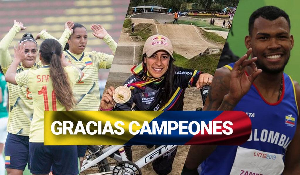 Colombia, medallas, medallero, oro, deportistas colombianas,