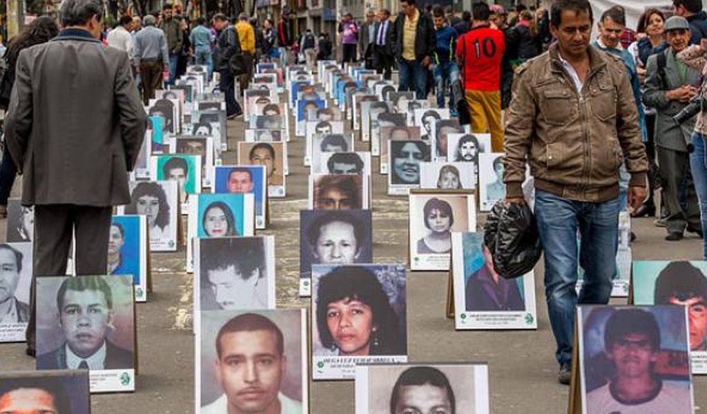 Se buscan más de 100.000 desaparecidos en el país