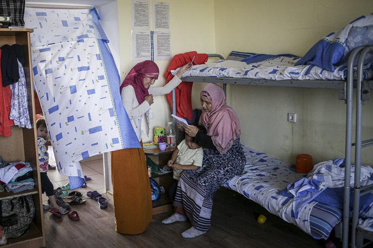 Kazajistán recibe con recelo a mujeres de ISIS