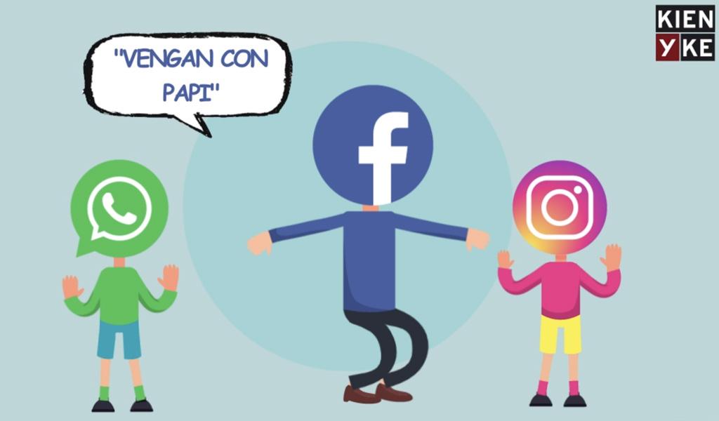 """""""Instagram de Facebook"""" y """"WhatsApp de Facebook"""""""