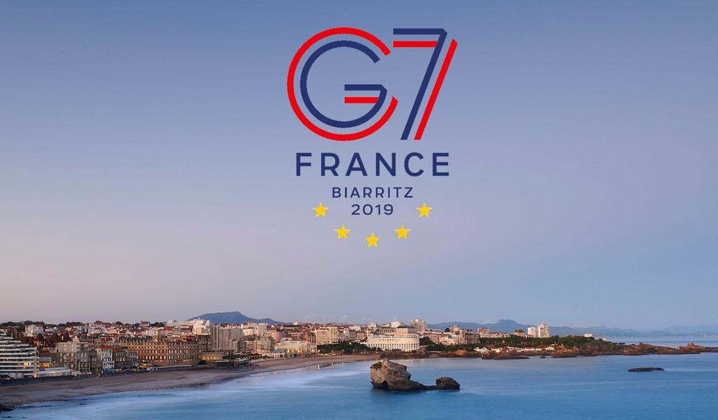 La UE toma posición en el G7 frente al Amazonas
