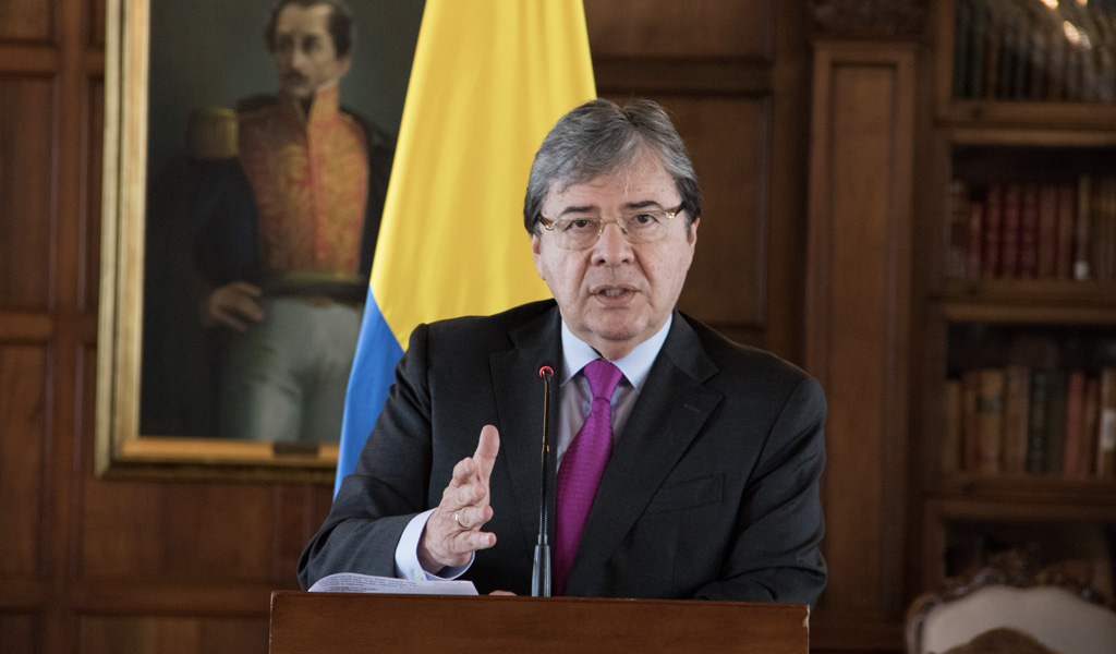 canciller, Colombia, dictadura, Maduro, Venezuela, China,