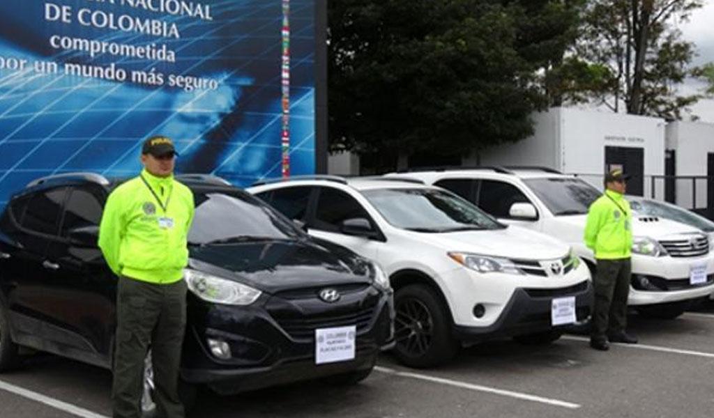 Operativo para combatir el hurto de vehículos y autopartes
