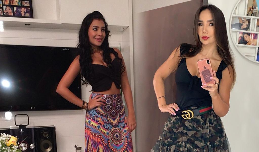 Paola Jara y su hermana decidieron tatuarse