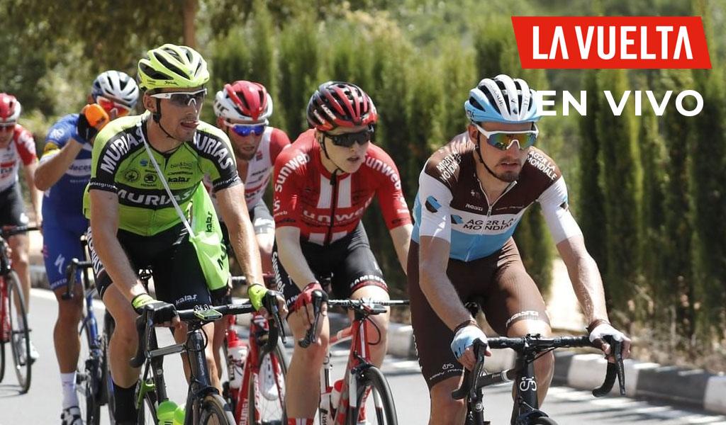 Nikias Arndt, ganador de la etapa 8 de La Vuelta