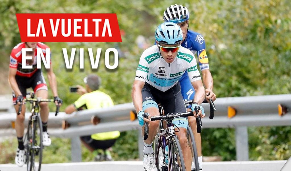 'Supermán' López, líder de la Vuelta a España