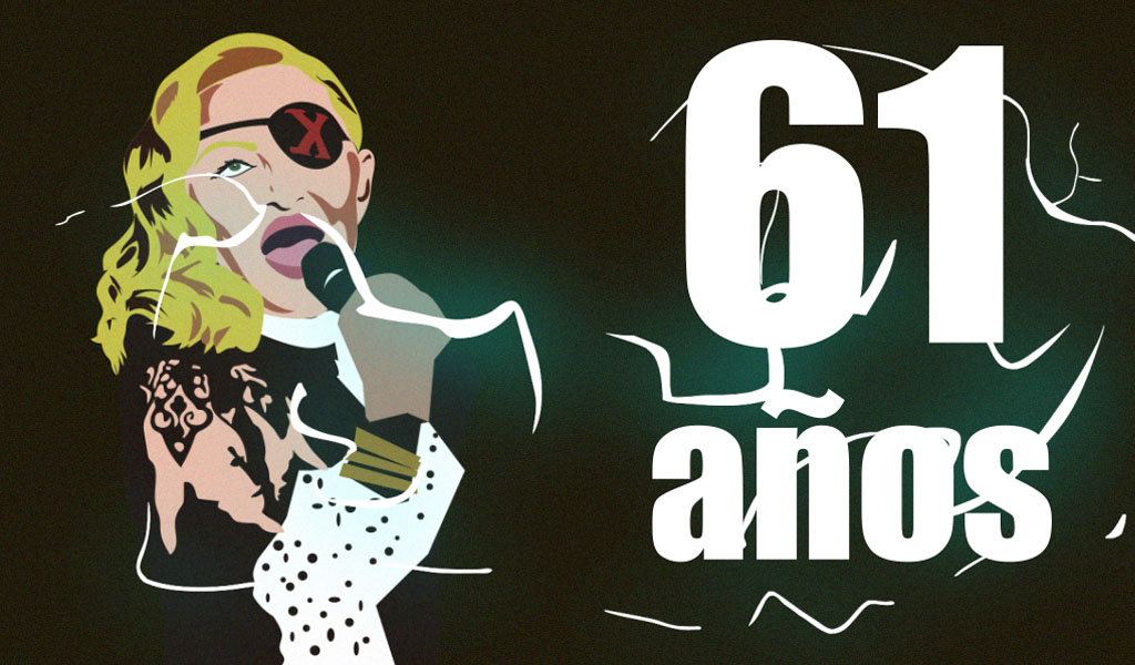 Madonna cumple 61