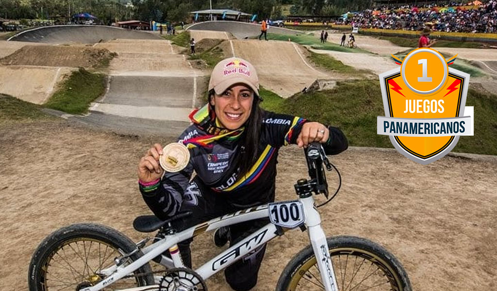Oro para Mariana Pajón en Panamericanos