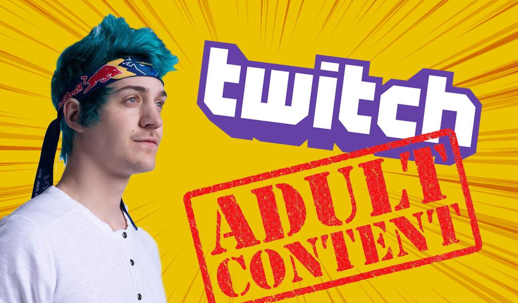 ¿Pornografía en el canal de Ninja en Twitch?