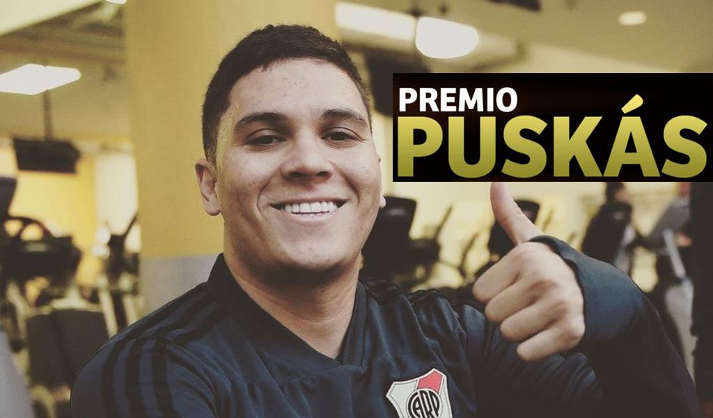 cómo votar mejor gol QUintero, premio Puskas, mejor gol Puskas, votar Quintero Puskas, video mejor gol Quintero