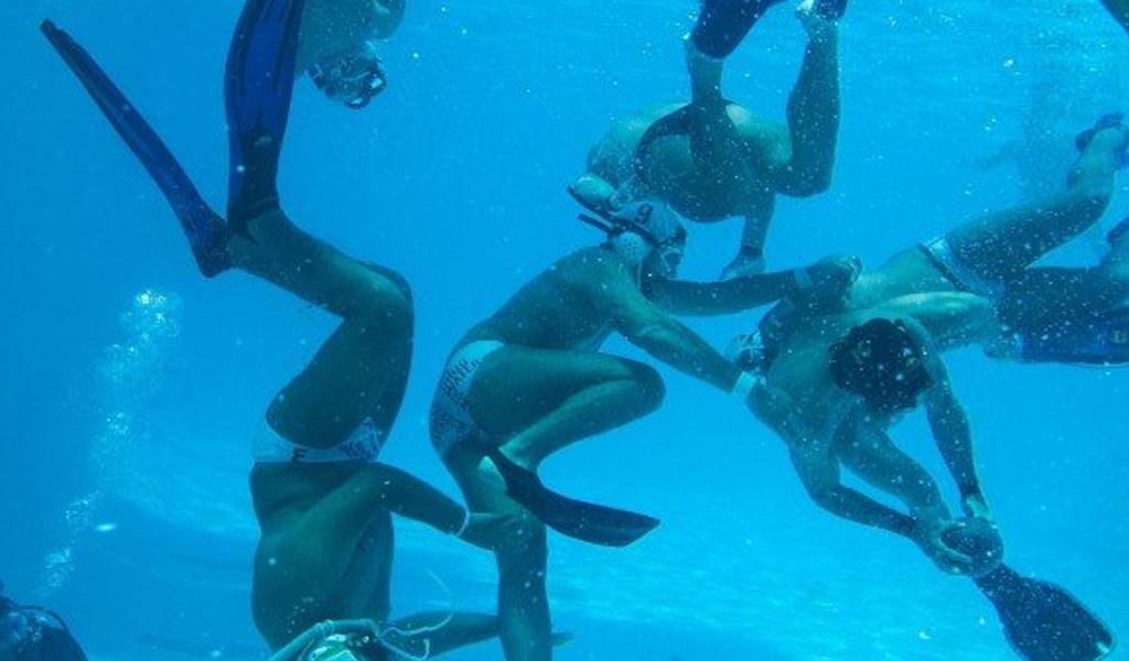 Colombia campeona mundial de rugby subacuático