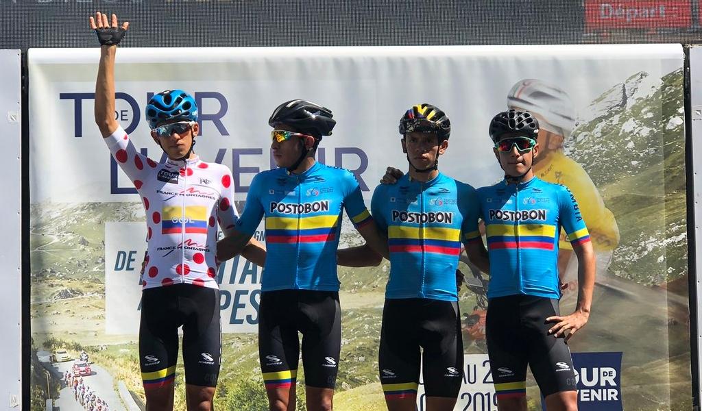 García el mejor colombiano en la etapa 8 del Tour de l'Avenir