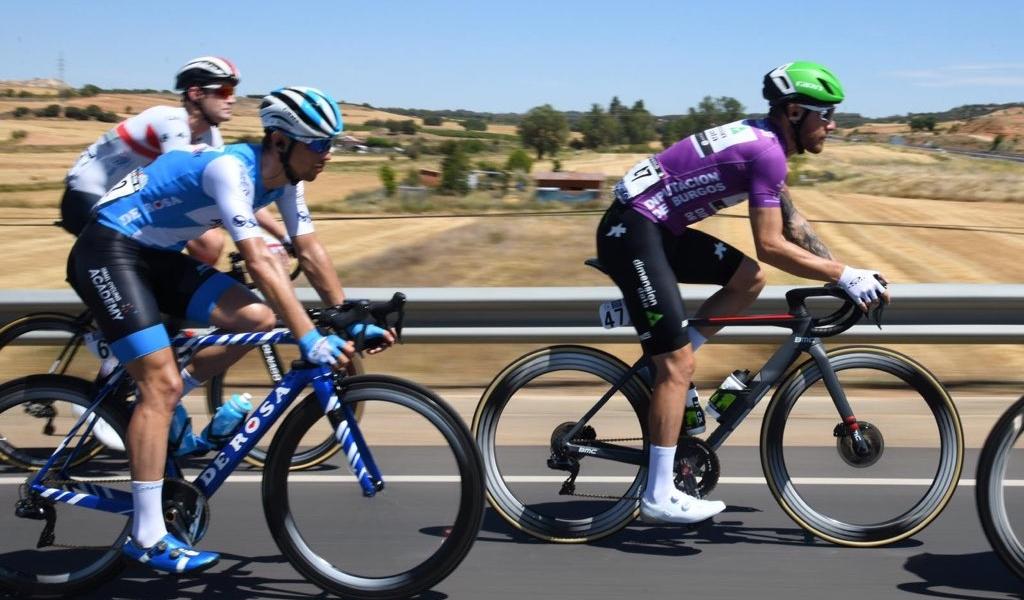 Menos segundos de diferencia en la Vuelta a Burgos