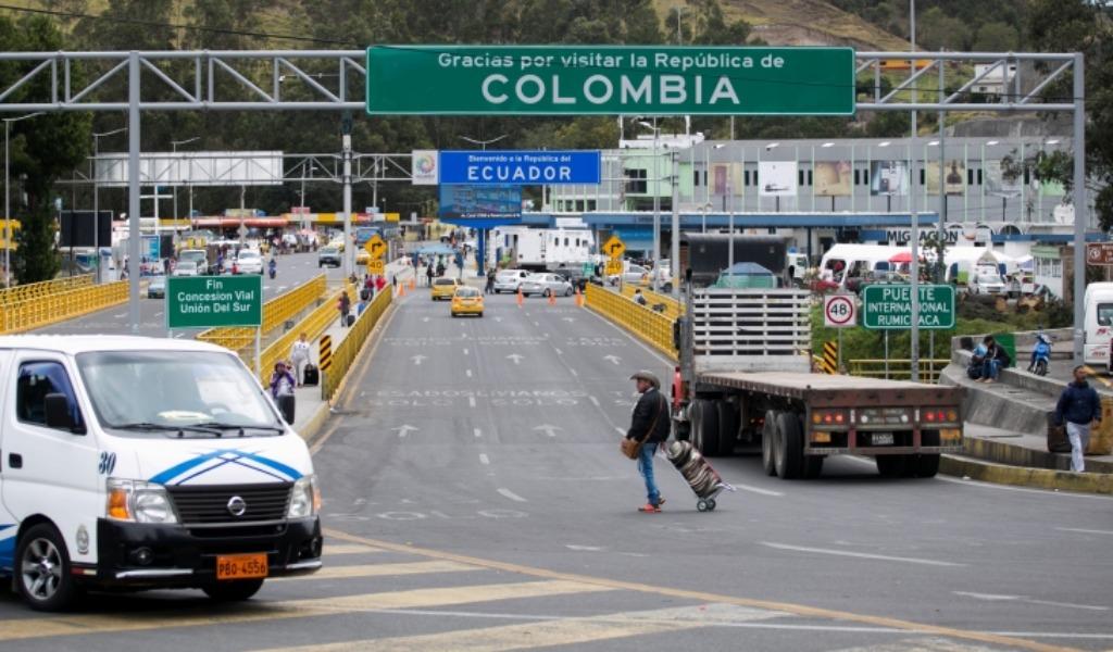Séptimo día de cierre fronterizo con Ecuador