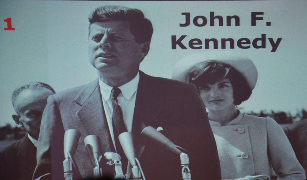 John F. Kennedy - Festival internacional de historia