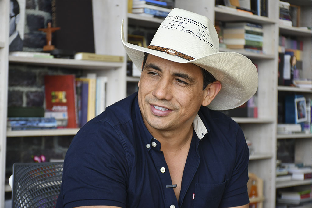 Gobernador del Casanare logró domar al potro