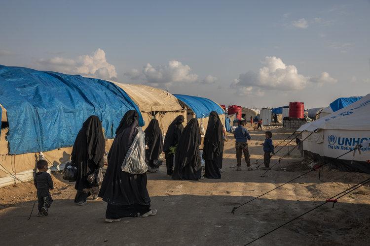 Amenaza de guerras en campamento de familiares de ISIS