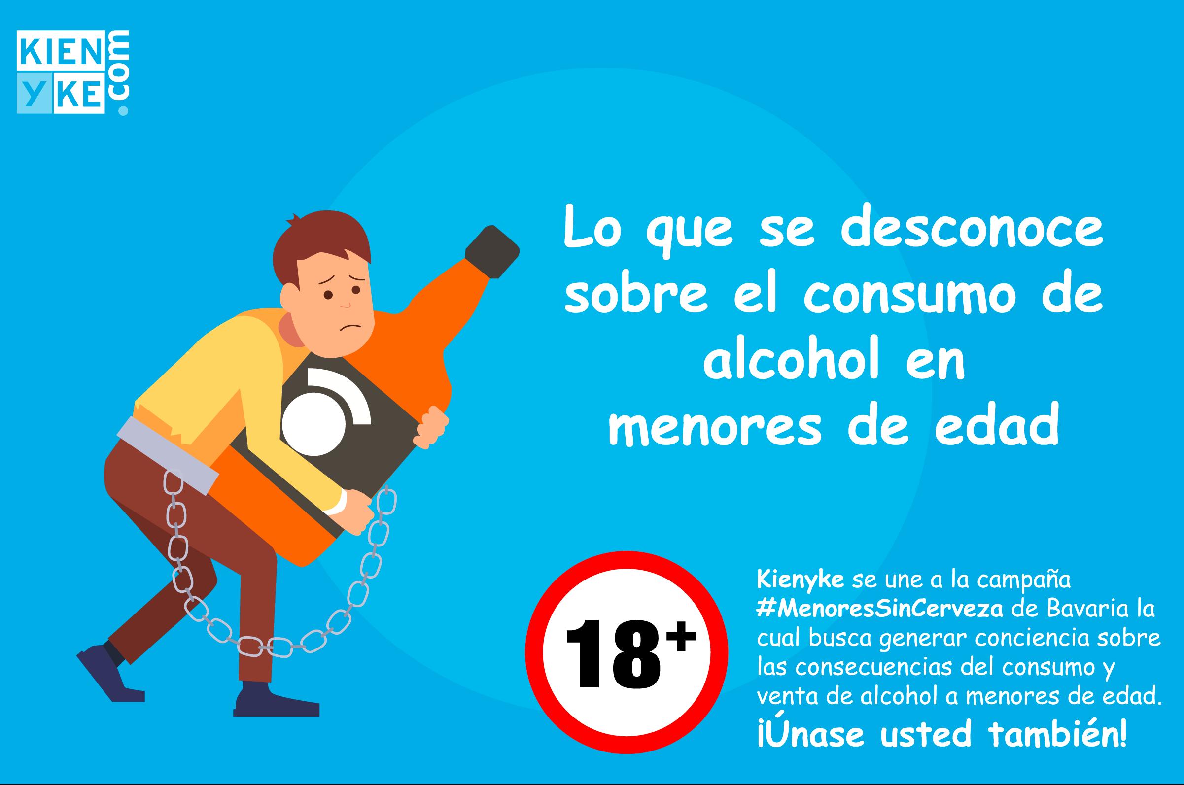 Lo que se desconoce sobre el consumo de alcohol en menores