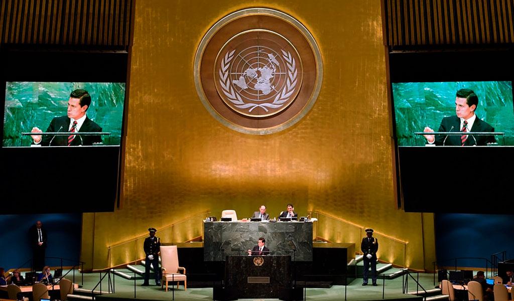 Puntos clave que tratarán en Asamblea General de la ONU