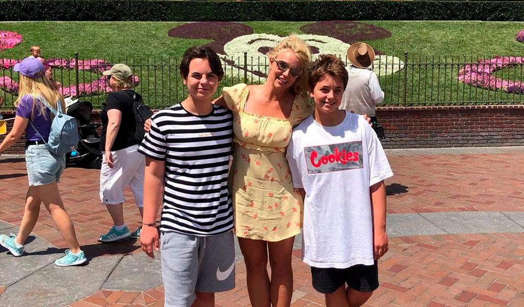 Reducen custodia de Britney Spears sobre sus hijos