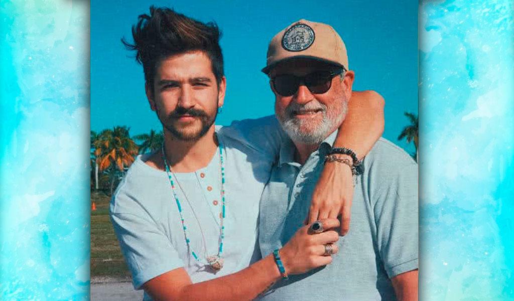 El tierno video de Camilo Echeverry cantando con su padre