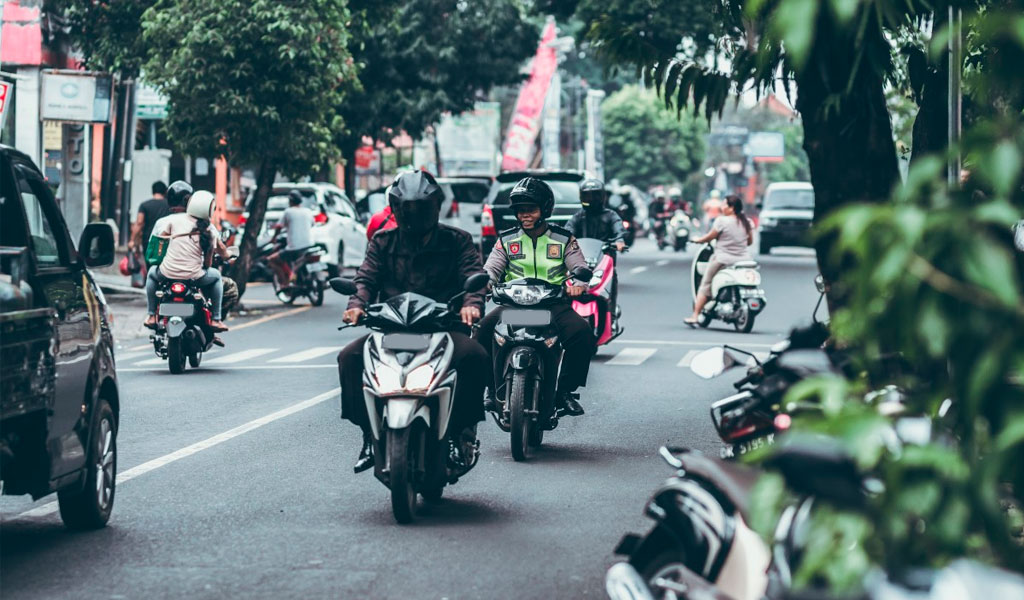 Agosto, el mes de más matrículas de motos
