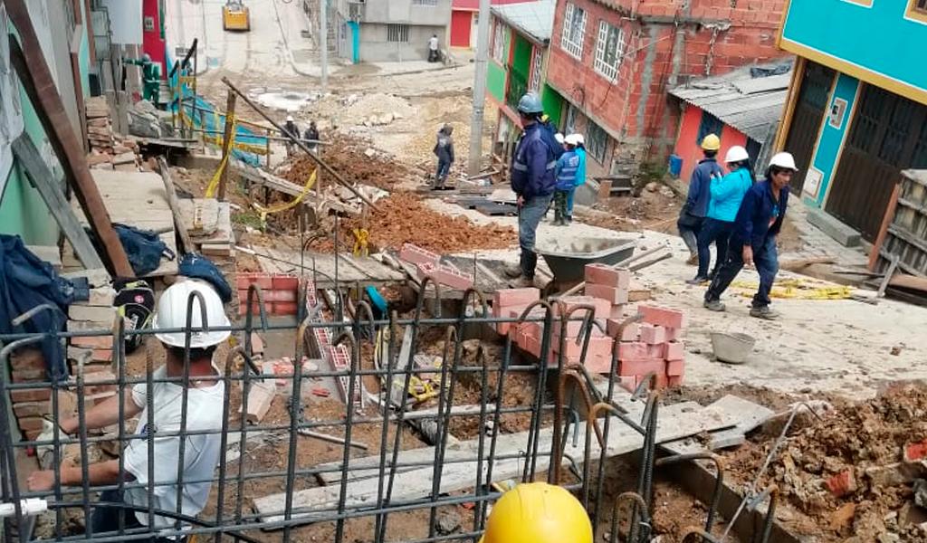 70.000 bogotanos disfrutan de obras de mejoramiento de barrios