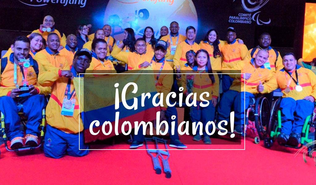 Colombia, Juegos Parapanamericanos